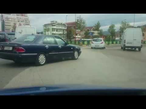 Albania driving in Tirana