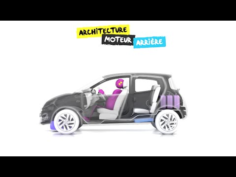 New Renault Twingo – An innovative design with a rear engine.