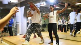 Zumba fitness with Karima Gaafar