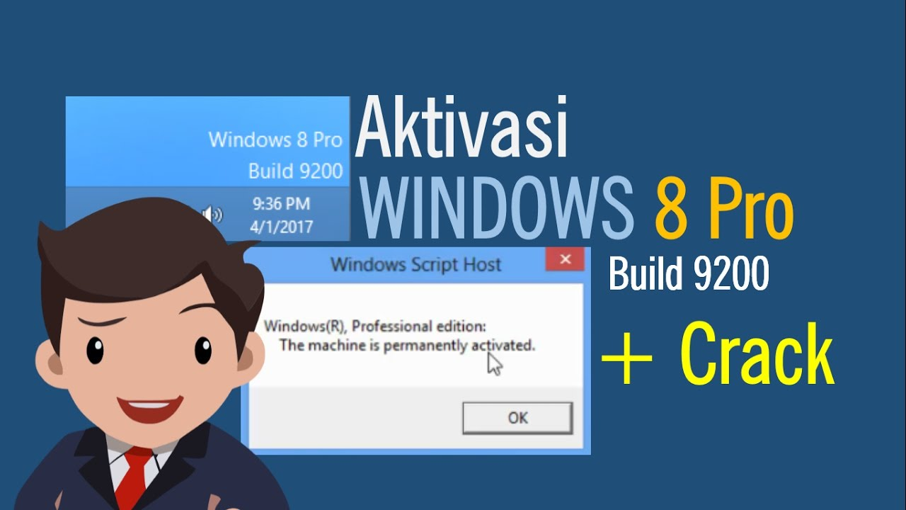 how to activate windows 8 pro build 9200
