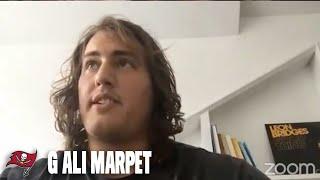 Ali Marpet on Rookie Tristan Wirfs & Blocking for Tom Brady | Press Conference