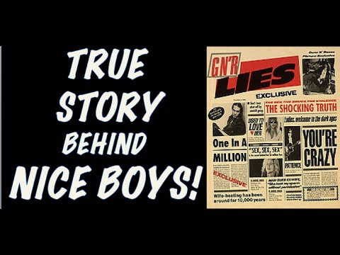 Guns N' Rose: True Story Behind Nice Boys! Angry Anderson Controversy!