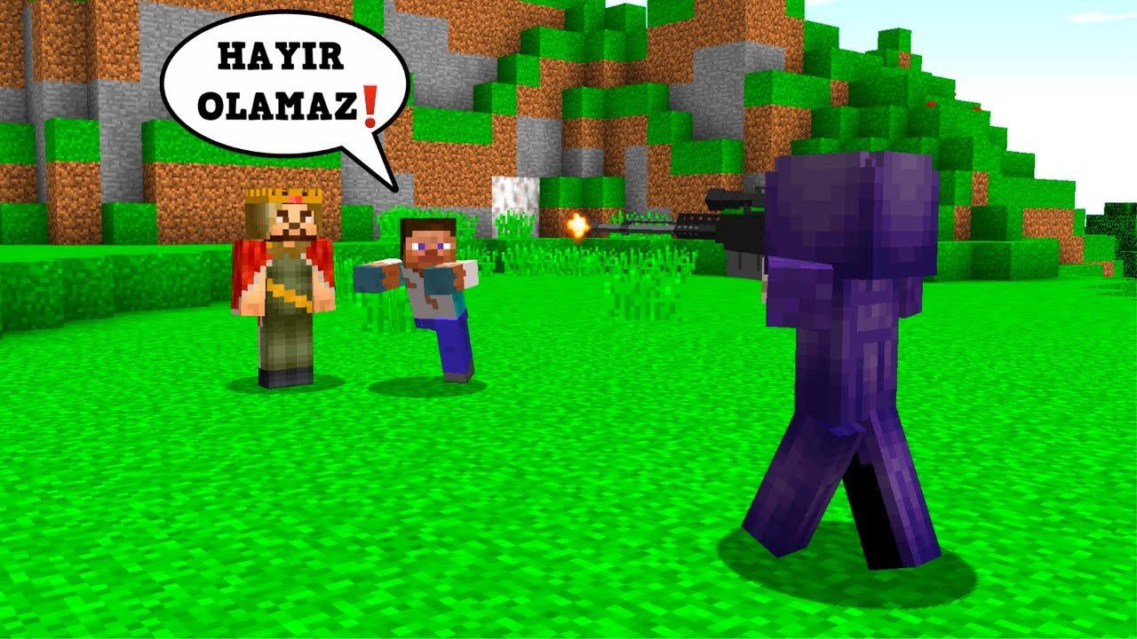 FAKİR ZENGİN'İ SON ANDA KURTARDI! - 😱 - Minecraft