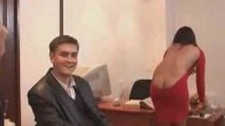 Repeat youtube video Funny sexy lady with low cut dress