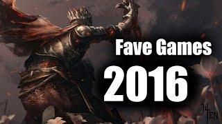 My Favorite Games of 2016