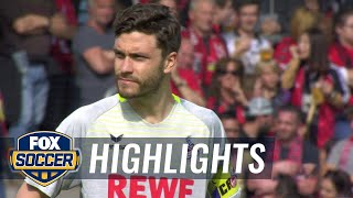 SC Freiburg vs. FC Koln | 2017-18 Bundesliga Highlights