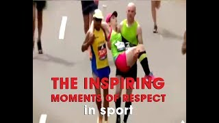 Salute! The Inspiring moment of respect and fairplay  running, marathon