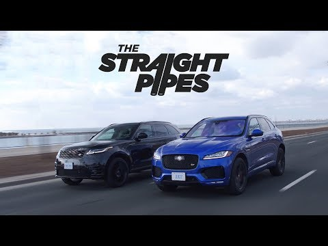 2018 Range Rover Velar Vs Jaguar F-Pace S Review - Luxury SUV Battle