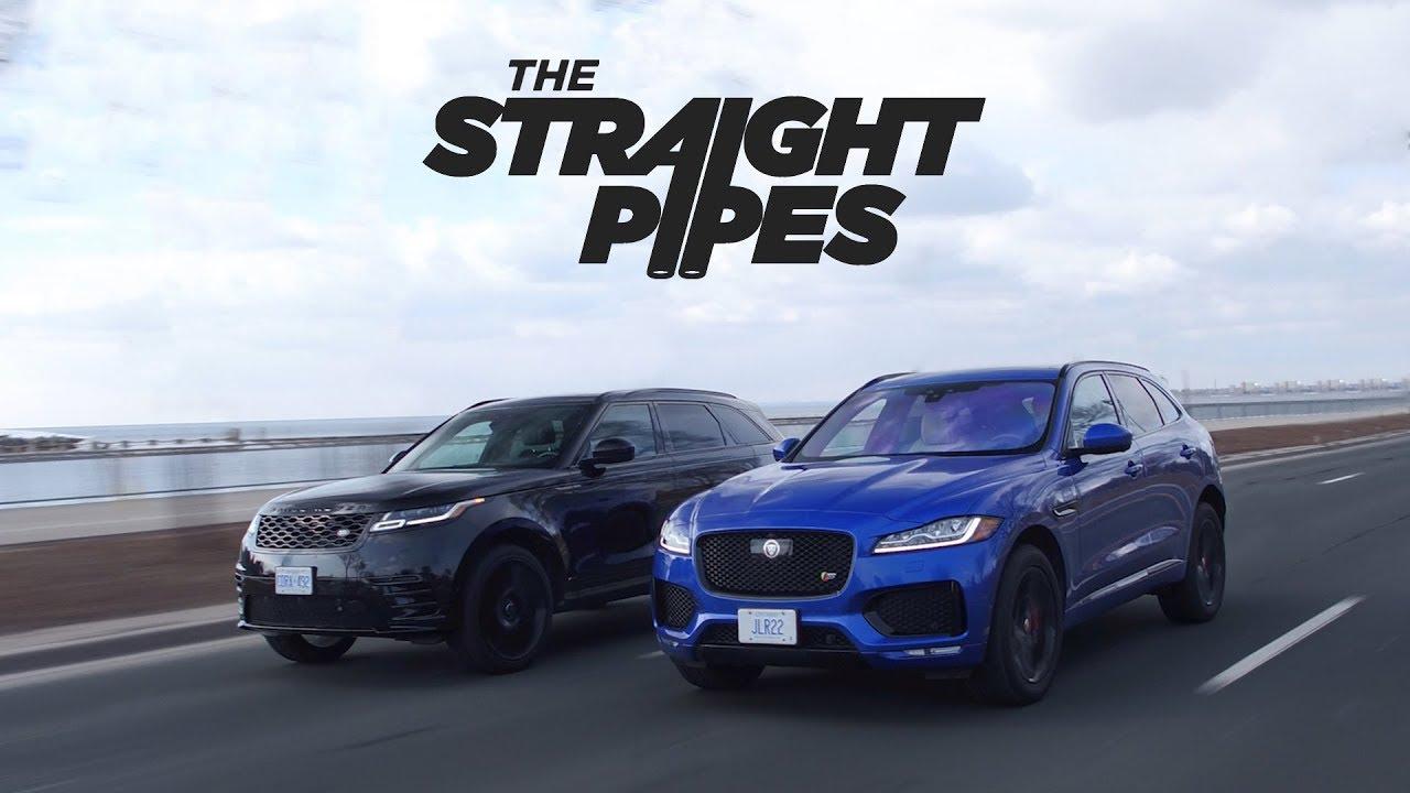2018 Range Rover Velar Vs Jaguar F-Pace S Review