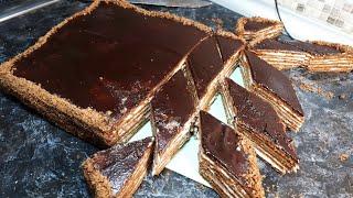 ТОРТ СПАРТАК ЗА 12 МИНУТ В ДУХОВКЕ ПРОСТОЙ РЕЦЕПТ ВКУСНОГО НЕЖНОГО ТОРТА К ЧАЮ Cake SPARTAK Recipe