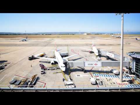 Aéroport Marseille Provence timelapse officiel