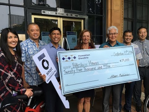 Supporting Eco-friendly Transportation with Bikehshare Hawaii