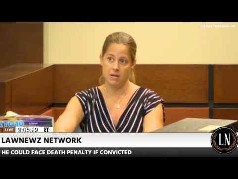 Henry Segura Trial Day 2 Part 1 Latent Print Examiner Annie Williams Testifies 08/04/17