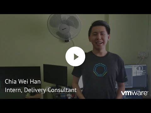 Chia Wei Han Intern, Delivery Consultant