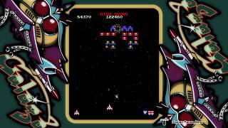 ARCADE GAME SERIES: GALAGA PS4. Namco 1981. New high score.