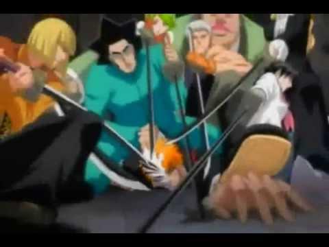 Bleach & hellsing amv (Hoolow ichigo & blood rage seras) ((disturbed the night))
