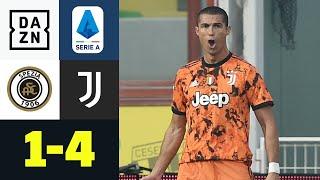 Comeback, Blitztor und Doppelpack! CR7 rettet Juve: Spezia Calcio - Juventus 1:4 | Serie A | DAZN