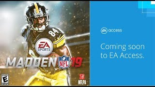 Play Madden 19 Early! FIFA 19, NBA LIVE 19, and NHL 19 - ALL EA Access Release Dates!
