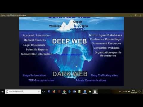 WHAT IS DEEP WEB AND DARK WEB - YouTube