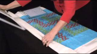 use acufil software to hoop your quilt on the janome mc12000 youtube