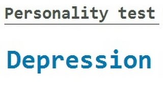 Personality Test: Depression