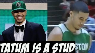 Jayson Tatum Could Be A Special 2 Way Player
