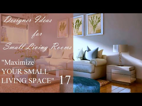 Small Living Room Decor   Furnishing and Decorating Ideas