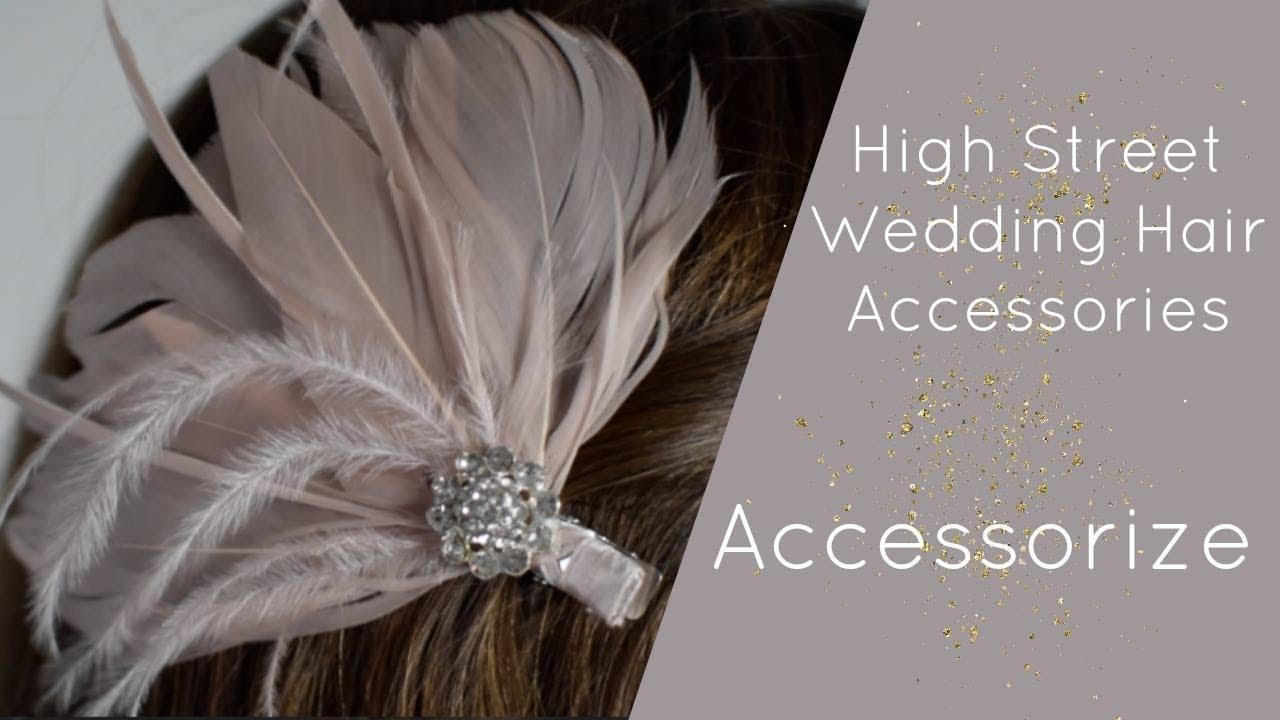 accessorize: wedding hair accessories