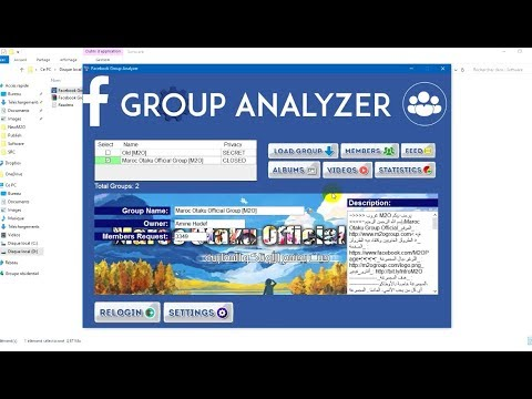 Facebook Group Analyzer | Get your group statistics & Remove inactive members 2017