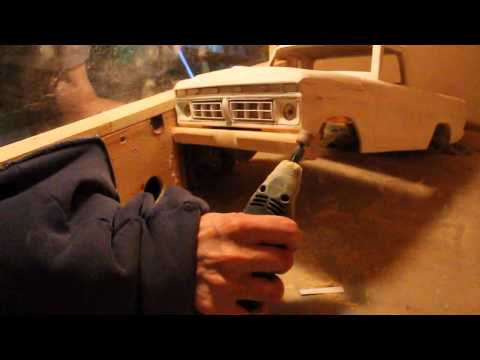 Headquake's RC - #116 (77 Ford) Build Video aug2012