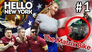 Hello New York #1: Конкурс Мокрых Маек. Коммерция В Футболе. Байк Из Матрицы. Фестиваль Шаров.