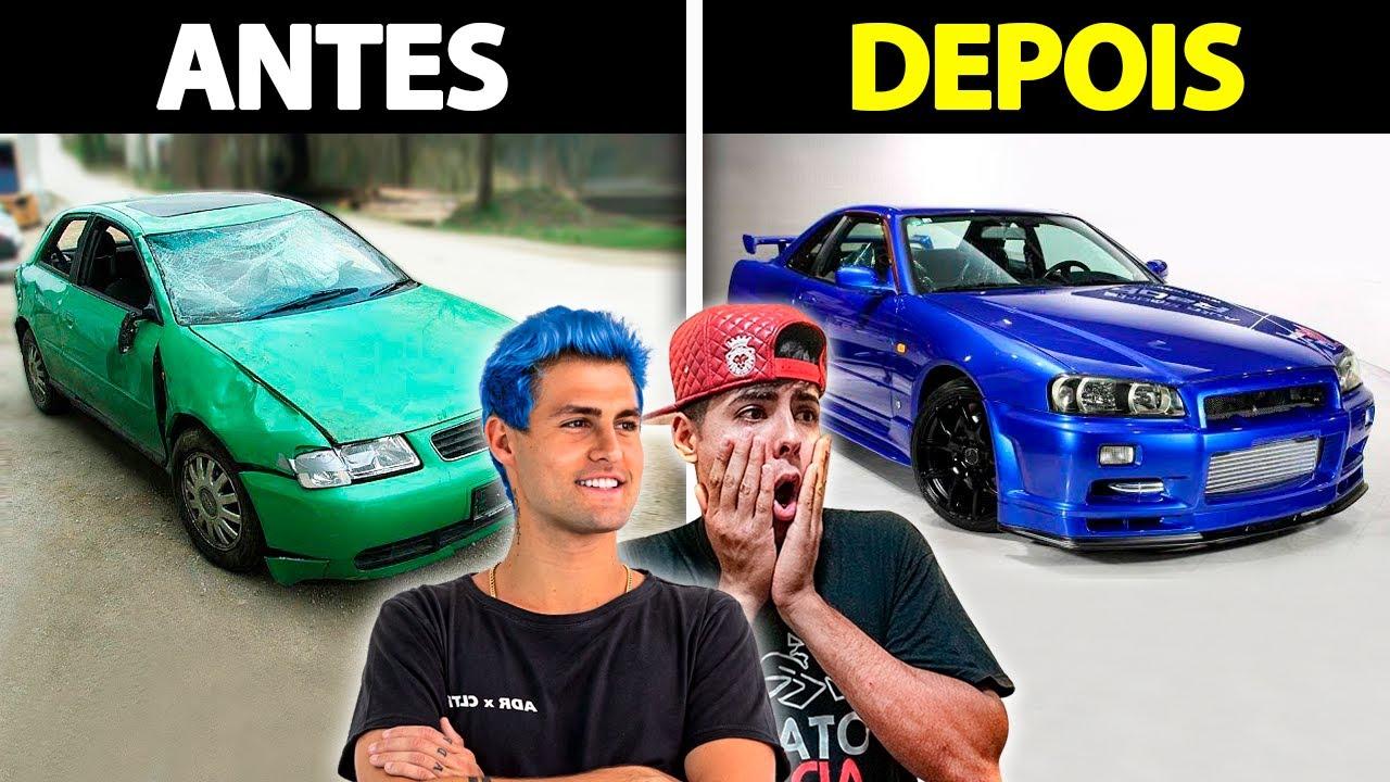 Download CARROS DOS YOUTUBERS ANTES E DEPOIS DA FAMA - PARTE 6