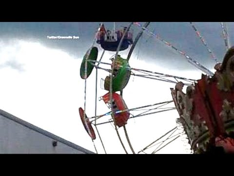 3 Children Fall From Ferris Wheel