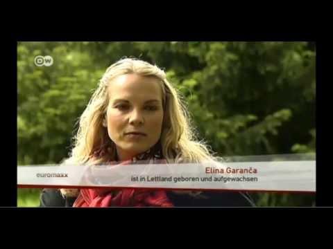"""Elīna Garanča - """"Down to earth farm girl"""" (Deutsche Welle Interview in German) Oct 2014"""