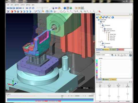 VISI Machining - Kinematic Simulation