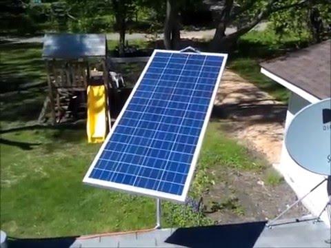 Solar Tracker using an Arduino