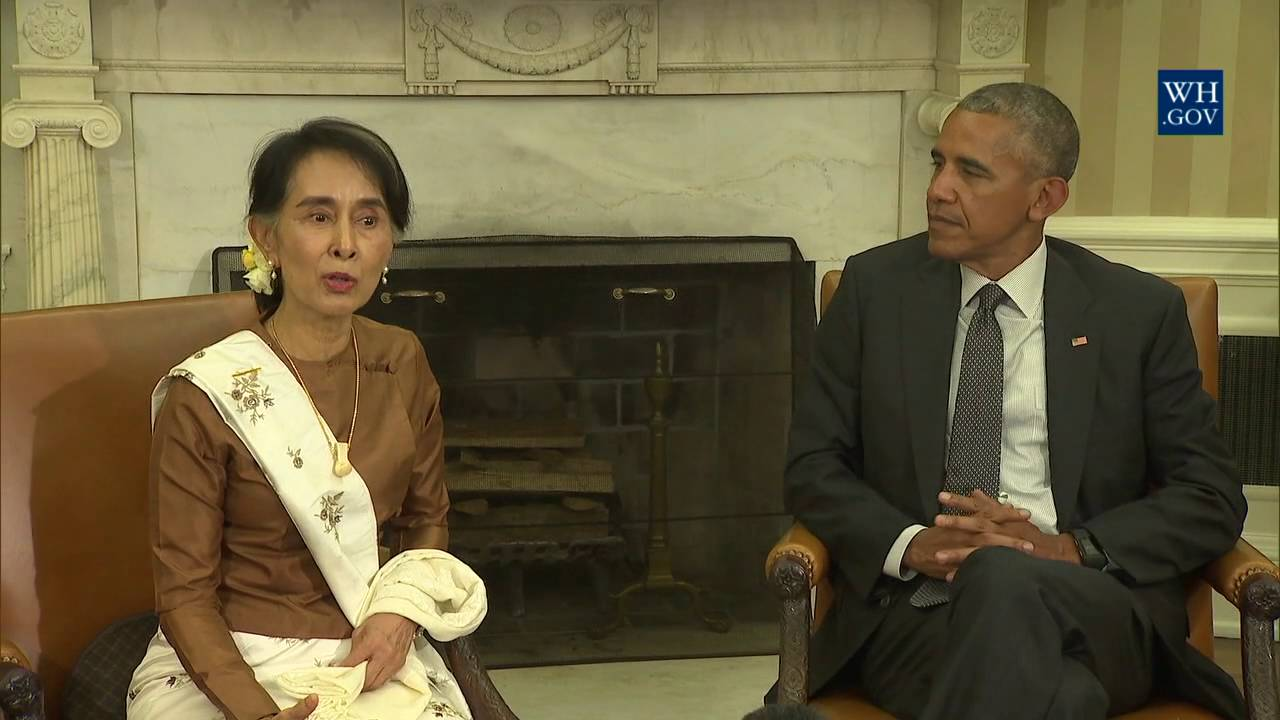 President Obama and Aung San Suu Kyi Celebrate Progress in Burma