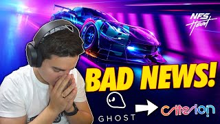 BAD NEWS FOR NEED FOR SPEED HEAT!