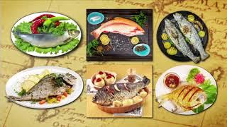 سلطة أفوكادو - مكرونة بكرات السمك  | شبكة وصنارة حلقة كاملة