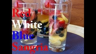 White Wine Sangria with Fruit - The Frugal Chef