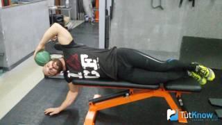 Упражнение для мышцы шеи