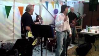 Shane Baker Singing  At Combe Down 16th July 2011