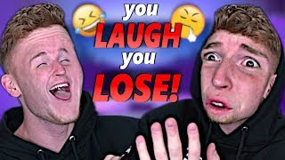 if you LAUGH, you LOSE!! (Extremely Hard)