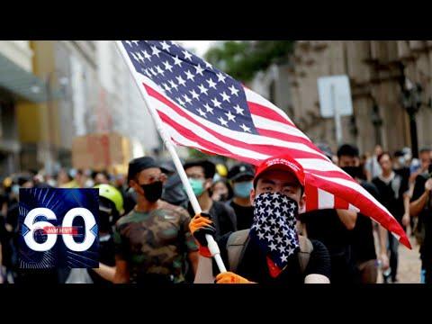 """Двойные стандарты: США умело манипулируют """"рычагами"""" протестов. 60 минут от 28.05.20"""