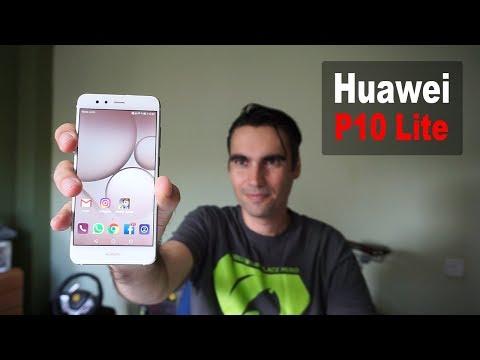 Huawei P10 Lite   unboxing y pre review en español streaming vf