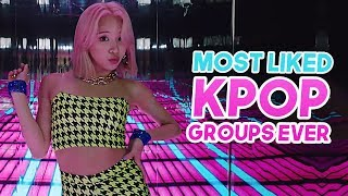 «TOP 100» MOST LIKED KPOP GROUPS MUSIC VIDEOS OF ALL TIME