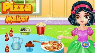 Cooking Pizza Maker Kitchen Colours for Kids Animation Education Cartoon Compilation
