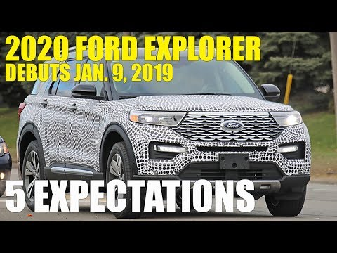 Coming Soon: 2020 Ford Explorer, 5 Expectations