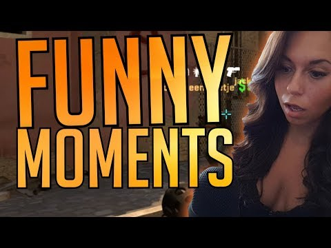 CS:GO - Funny Moments #53 (HOT GIRL, FAMILY FRIENDLY, CLICKBAIT TITLE)