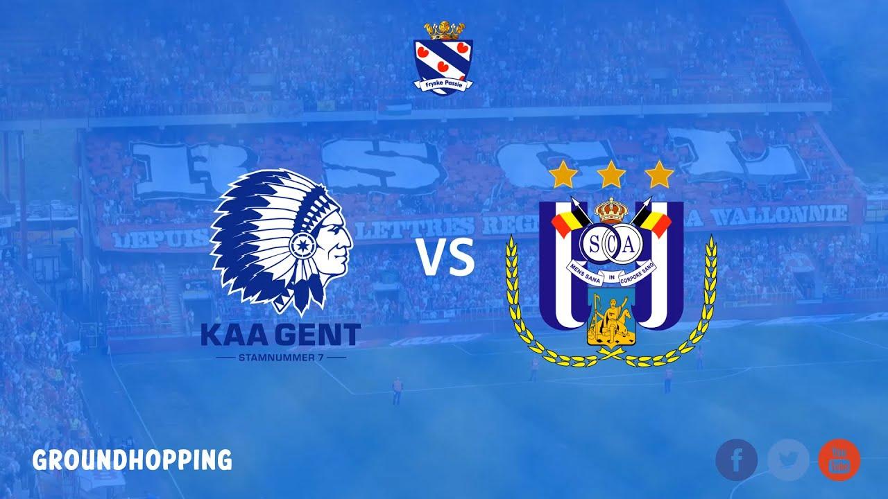 Groundhoppen Kaa Gent Rsc Anderlecht